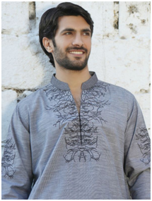 Fancy Gul Ahmed Kurta collection for men