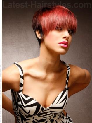 Convertible Fun Bangs - Eid hairstyles