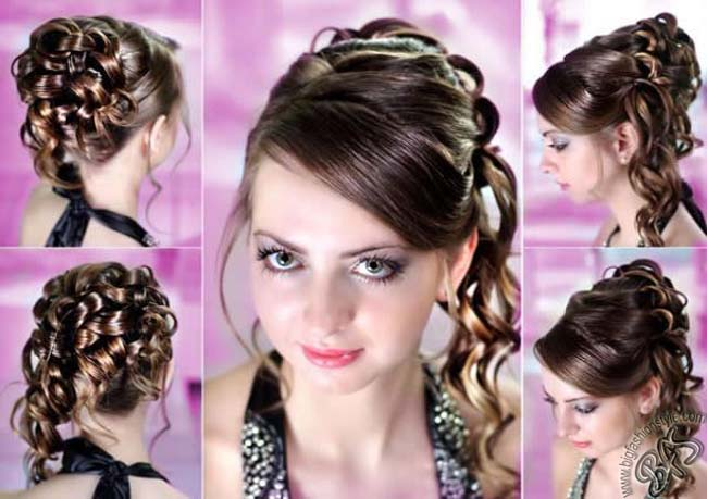 Trendy and glamorous Eid hairstyles