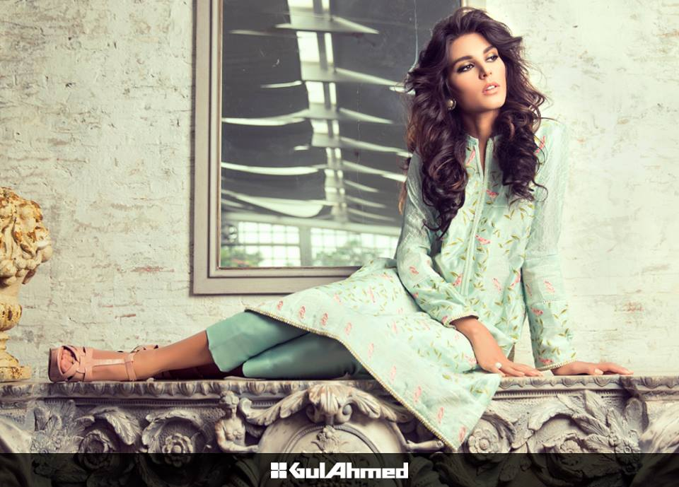 Formal Wear Collection 2015 by Gul Ahmed