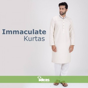 Gul Ahmed Independence Day Collection-Kurtas For Men