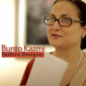 Pakistani Fashion Designer - Bunto Kazmi