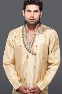 Latest-Groom-Kurta-Dresses-2014-15-For- groom
