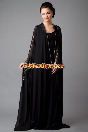 abaya - latest pakistani fashion trends
