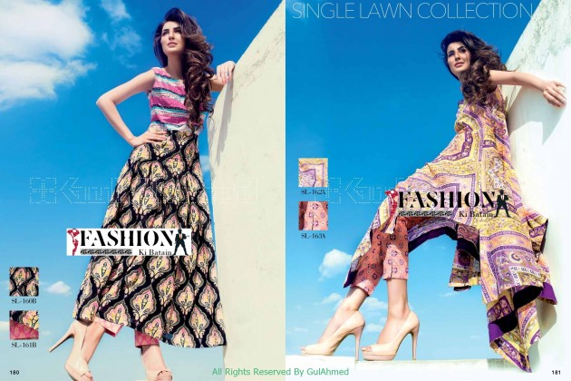 Gul Ahmed - Women Dressing Collection 2015