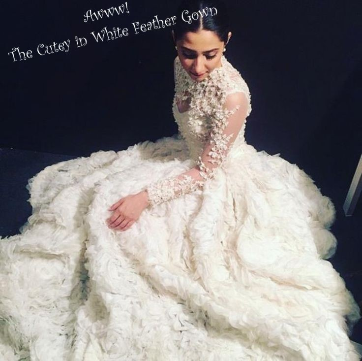 The White Divas Mahira Khan