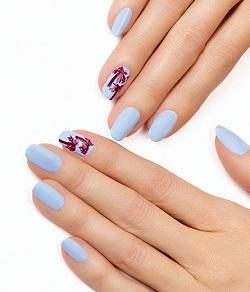 PALM TREES - A unique nail art