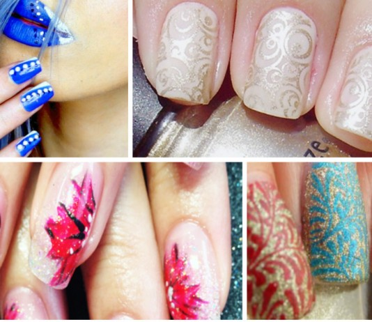 Girly Nail Art Guide - An overview of major three Nail Art Designs