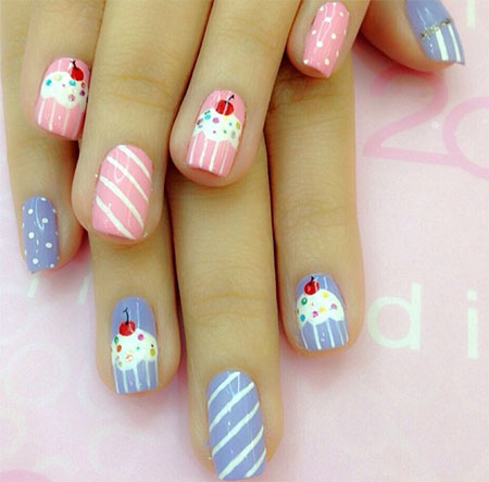 Nail Art Guide - Birthday Party Girly Nail Art - Girly Nail Art Guide - An Overview Of Major Three Nail Art Designs