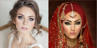 bridal makeup - eastern bridal makeup tip - western bridal makeup tip