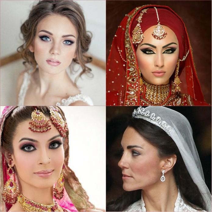 bridal makeup - eastern bridal makeup tip - western bridal makeup tip