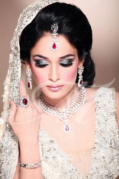 Eastern Desi Pakistan Indian Bridal Makeup