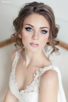 bride eastern bridal makeup tip - western bridal makeup tip