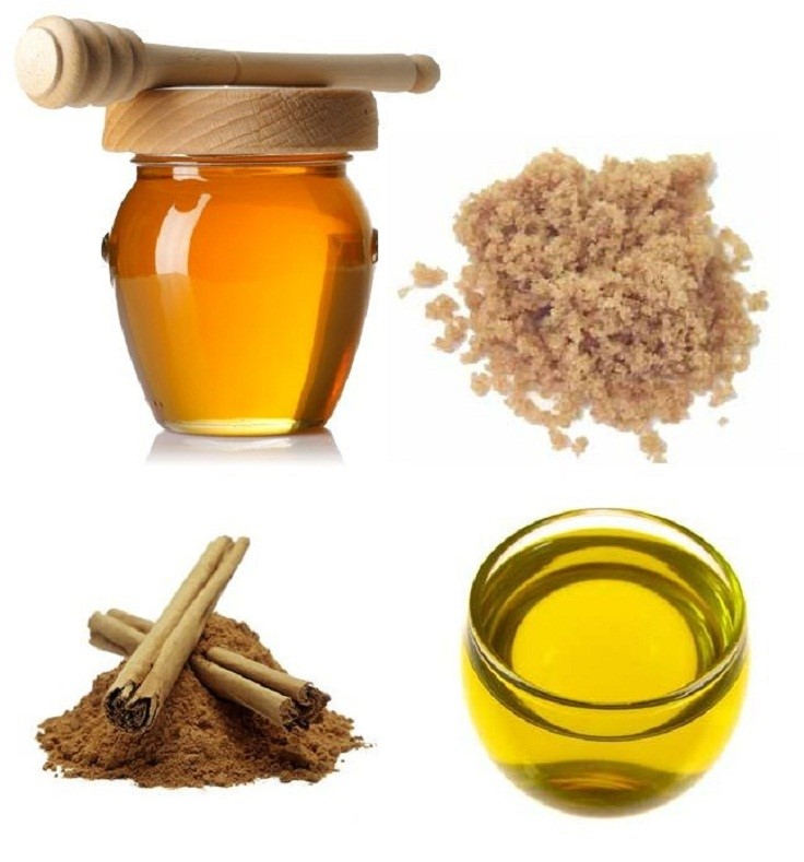 hair fall treatment - honey - olive oil - cinnamon - DIY hair treatment - DIY hair care - diy HAIR FALL SOLUTION