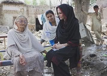 angelina jolie wearing shalwar kameez - salwar kameez and sitting on charpai