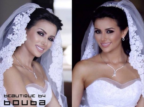 white dress royal makeup - eastern bridal makeup tip - western bridal makeup tip