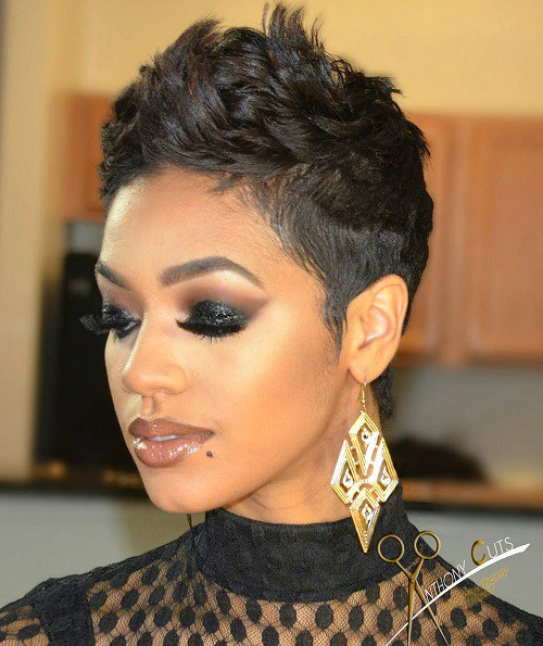 Super Best Short Curly Hairstyles For Black Women Short Hairstyles For Black Women Fulllsitofus
