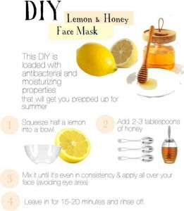 Skin care: Beauty hacks to save time - beauty hacks- lemon and honey mask- perfect look- DIY