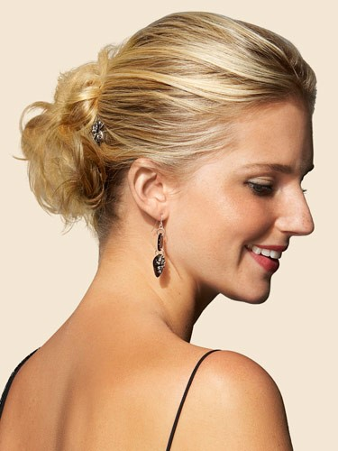 Double-Knotted Updo - I am your girl hairstyle for the prom
