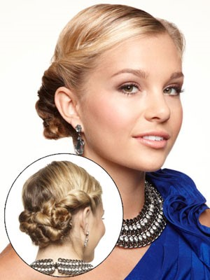 Smooth Twists - decent hairstyles for prom