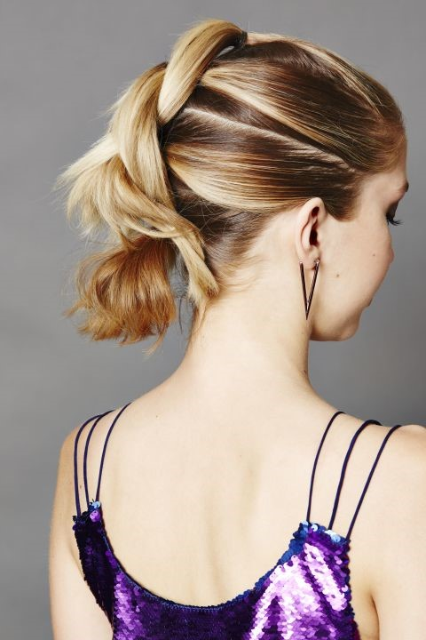 Twisted Mohawk  - The prettiest hairctyle for your prom