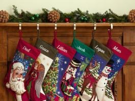 Monogrammed Stockings 1
