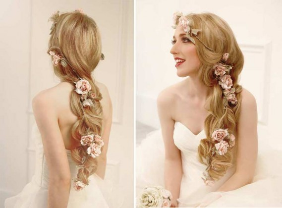 twist hairstyles for wedding day