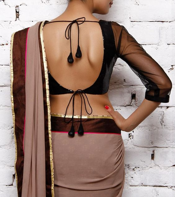 Blouse designs to enhance you Saree look