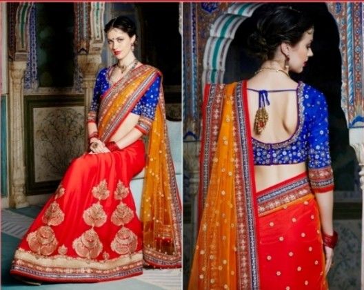 Saree Blouse Design for this year