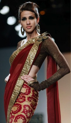 sari blouse with full sleeves