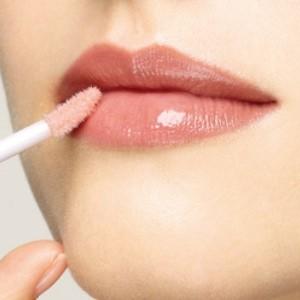 shiny attractive lips