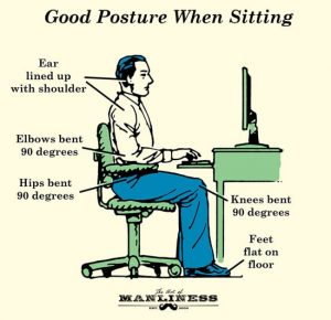 Good posture for better health