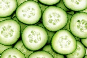 cucumber for sunburn