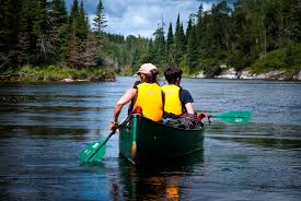 burn calories with canoeing