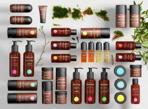 Scandinavian beauty products