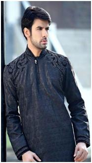 Fancy Gul Ahmed Kurta collection for men