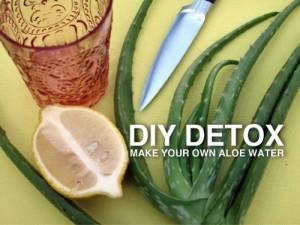 DETOX WATER - Aloe water