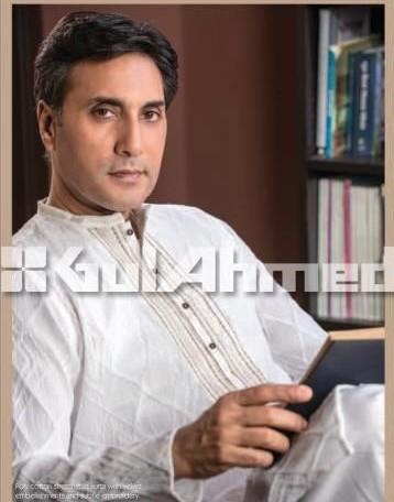 Fancy Gul Ahmed Kurta collection for men 2015