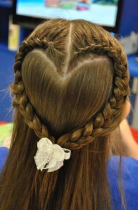 French Braided Bun - Hairstyle