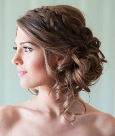Low Side Bun Hairstyle side style