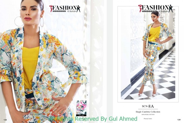 Gul Ahmed Mid Summer Collection 2015