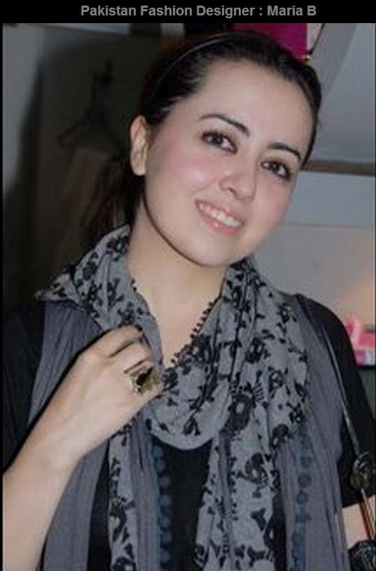 Pakistan Fashion Designer Maria B Fashion Ki Batain