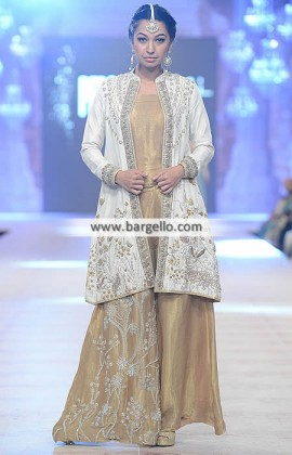 latest pakistani fashion trends - Gorgeous jumpsuit with jacket for all occasions