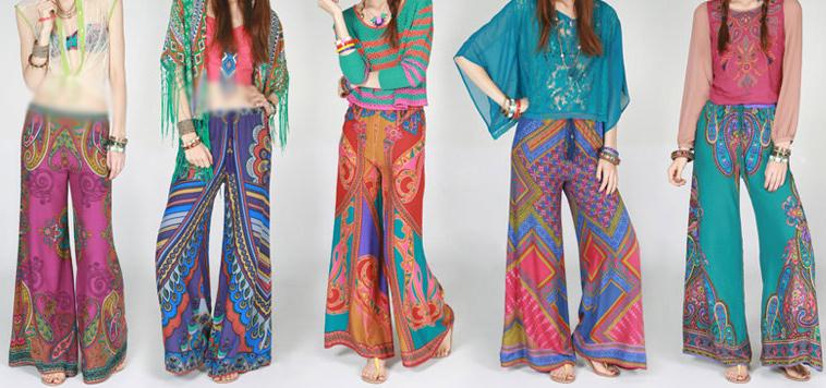 latest pakistani fashion trends - Stylish Palazzo pants for ladies