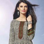 2d3145f137 Elegant and Simple Salwar Kameez Designs 1. Printed Shalwar kameez