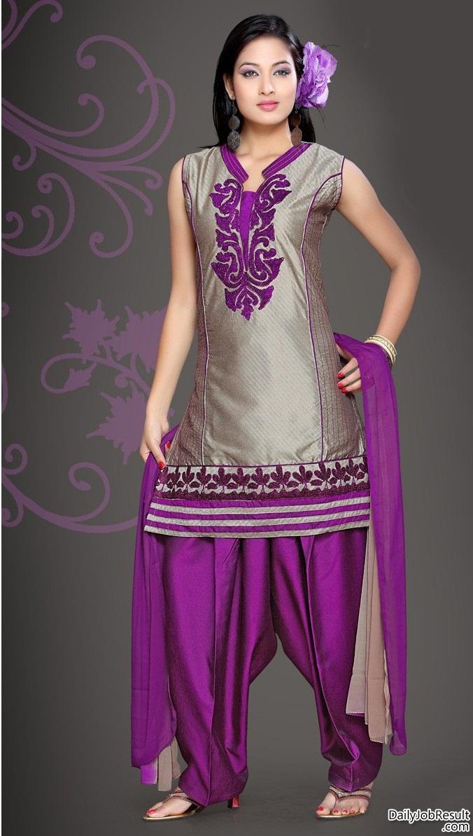 Patiala Shalwar Kameez Fashion Ki Batain