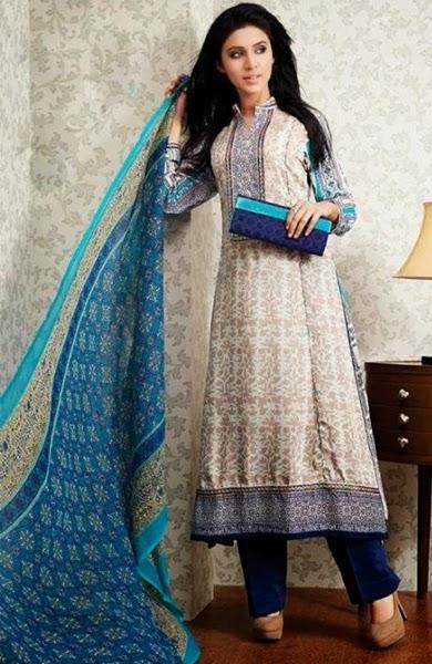 b6670edaa2 Printed-Linen-Salwar-Kameez-Designs-14-2015 Clothing9.blogspot.com 1 ...