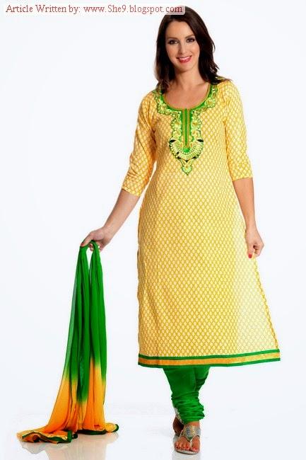 d81240c441 Simple-Elegant-Salwar-Kameez She9.blogspot.com 2 - Fashion Ki Batain