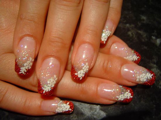 Nail art gudie - Wedding party Girly Nail Art