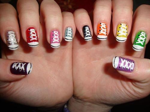 Nail Art Designs Fashion Ki Batain
